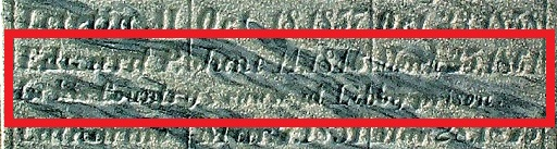 Grave marker of Edward P. Ferris