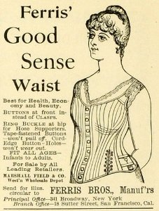 Ad for the Ferris Good Sense Waist corset