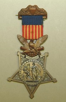 Style of Medal of Honor awarded 1862 to 1896