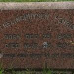 Headstone for Frelinghuysen Ferris