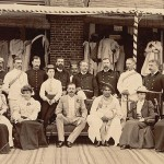 Maharajah of Kohlapur visiting the British residency in 1894