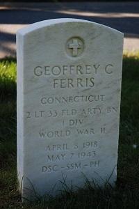 Geoffrey C Ferris tombstone