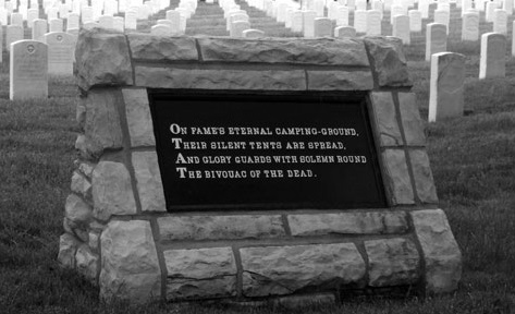 Salisbury NC National Cemetery plaque for Union POWs