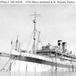 hospital ship USS Mercy in France 1918
